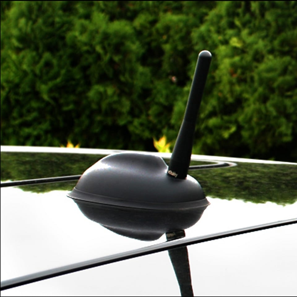 Stubby MINI Antenne Model Zwart (10cm) 02
