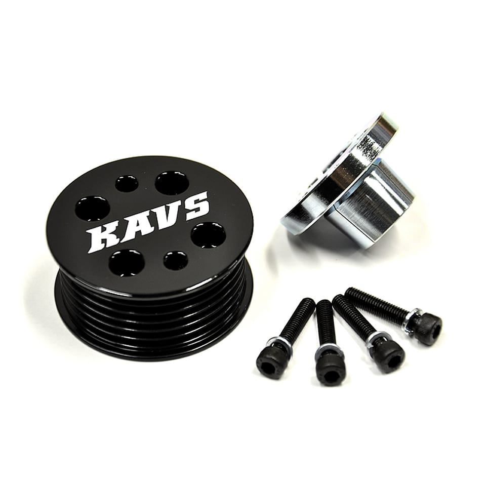 KAVS Motorsport 17% Compressor Pulley (R53) (1)