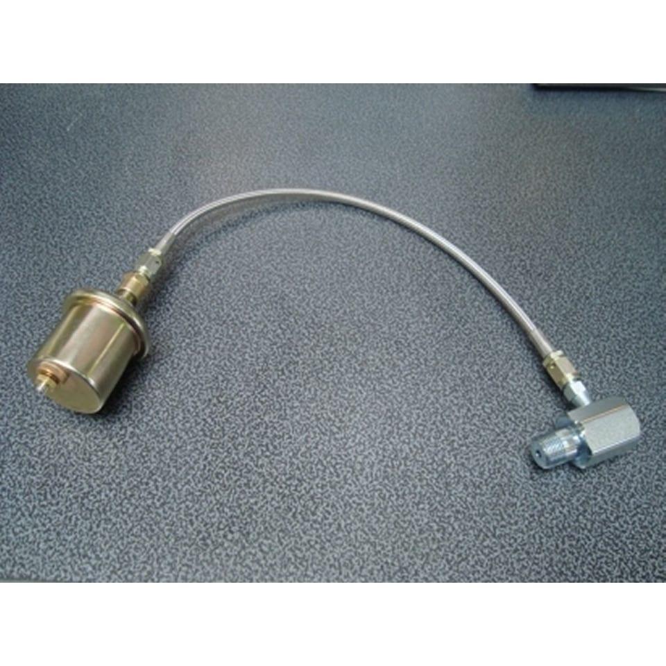 Adaptor en Leiding voor Oliedrukmeter