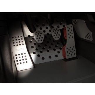 Rennline Aluminium Linker Voetsteun
