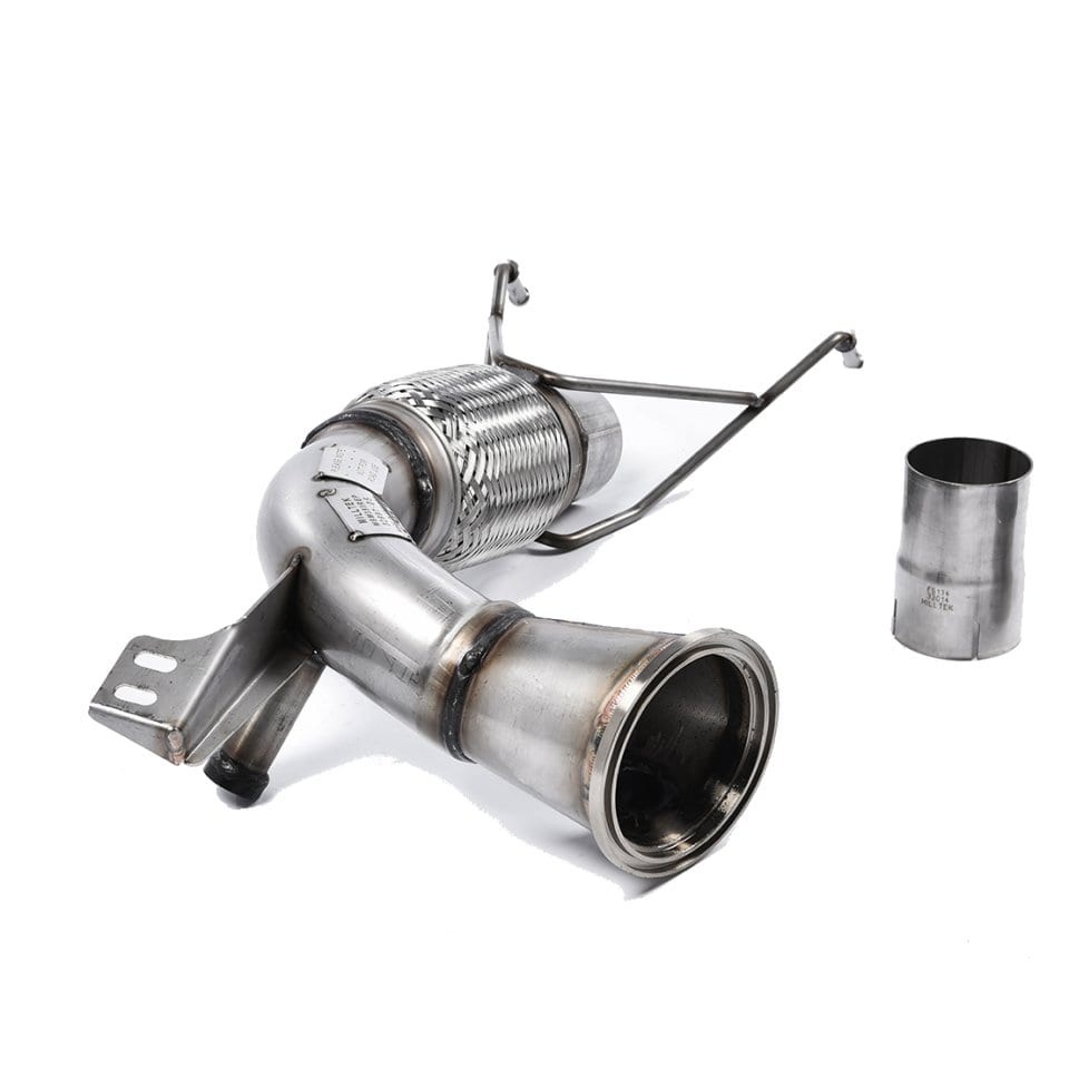 Milltek RVS De-cat Downpipe (F56) (3e Gen)