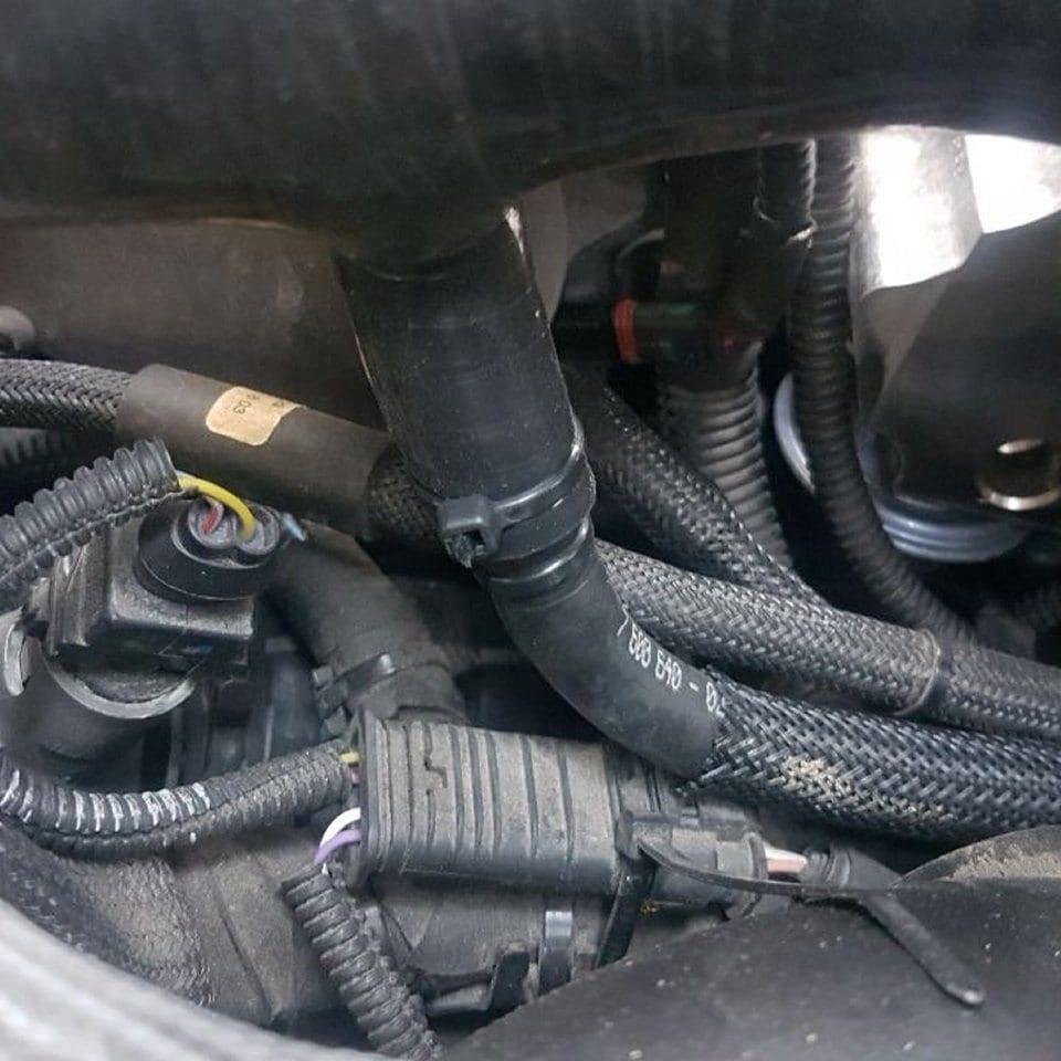 Vervangende 'Groene Ring' Turbo-inlaatslang (2de Gen) (5)