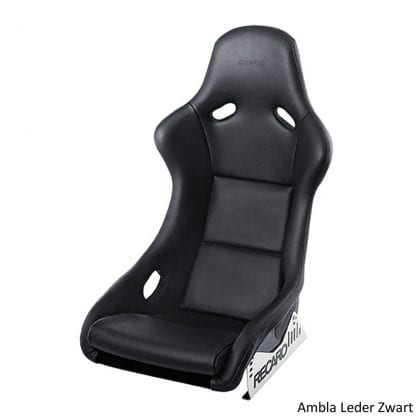 Recaro Pole Position Ambla Leather Black