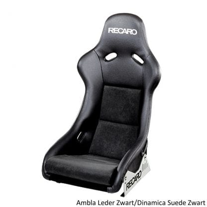 Recaro Pole Position Ambla Leather Black Dinamica Suede Black