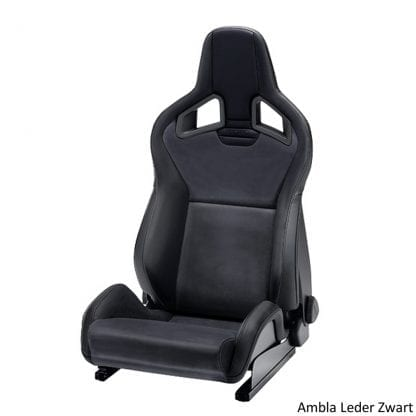 Recaro Sportster CS - Ambla Leather Black