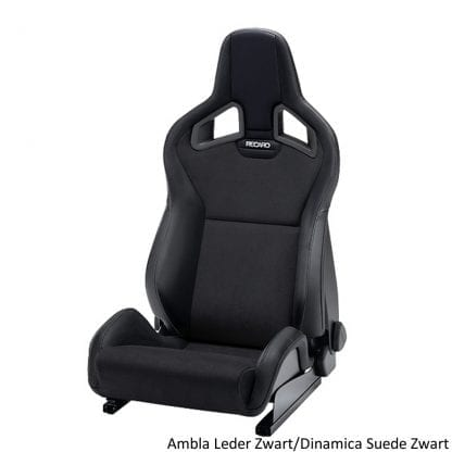 Recaro Sportster CS - Ambla Leather Black Dinamica Suede Black