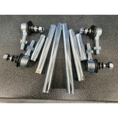 Stabilisatorstang Tie Rods met 3 Lengten en Kogeleinden (1)